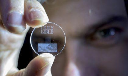 Një disk prej xhami 5D që ruan të dhëna deri në 360TB