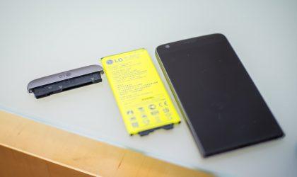 LG G5, në një test ku gërvishtet, përthehet dhe digjet