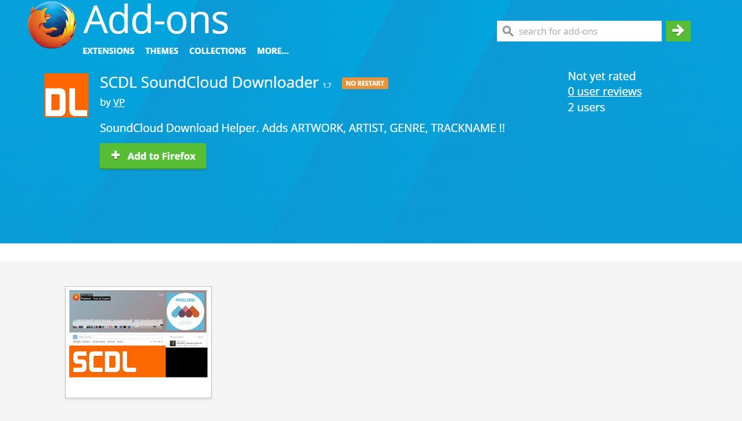 SCDL SoundCloud Downloader