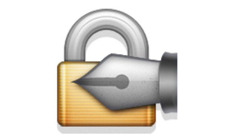 lock-with-ink-pen emoji