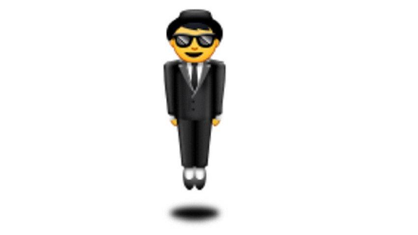 man-in-business-suit-levitating emoji