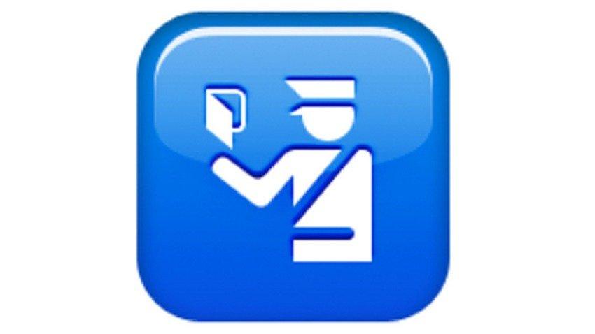 passport-control emoji