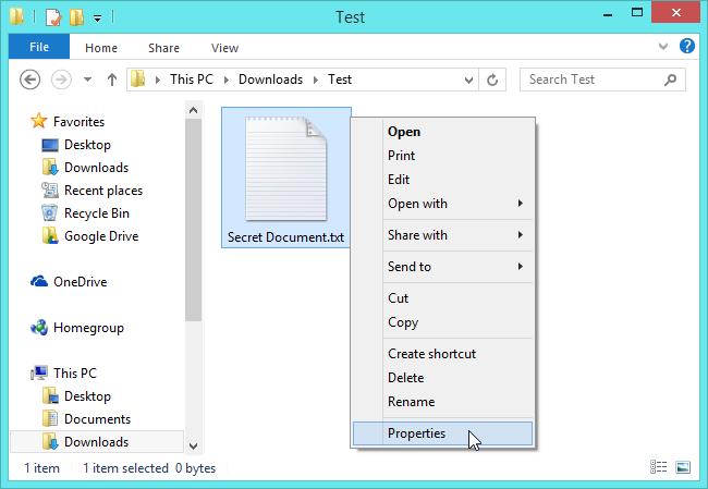 open-properties-window-to-hide-file-on-windows-8  fshihni