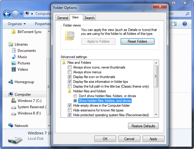 show-hidden-files-and-folders-on-windows-7 fshihni