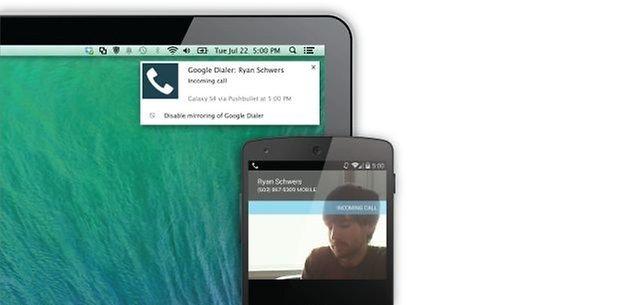 Pushbullet lidhet me të gjitha pajisjet e tua për të shpërndarë lidhje, telefonata, SMS madje edhe skedarë. / ©GJBITeam