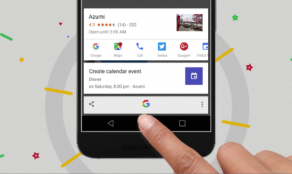 Google Now on Tap heq veçorinë e Screenshotit