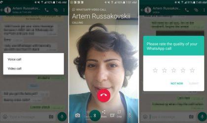 WhatsApp do sjellë në jetë telefonatat me video!
