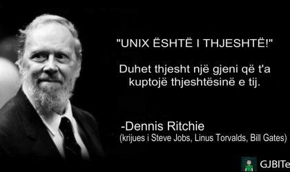 Pesë fakte rreth Dennis Ritchie – Shpikësi i gjuhës 'C'.