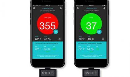 iPhone, sensor për cilësinë e ajrit
