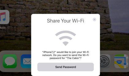 Përdoruesit e iOS 11 nuk do u duhet të mbajn mend fjalëkalimet e WiFi
