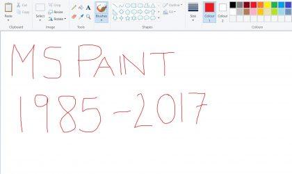 Shuhet në moshën 32 vjeçare Microsoft Paint…