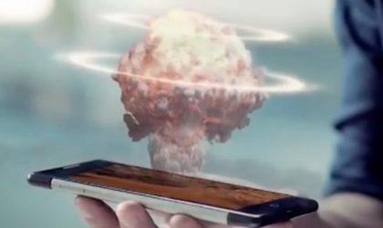 Red sfidon Apple e Samsung, mbërrin telefoni holografik