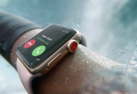 Apple prezanton Apple Watch Series 3 me lidhje LTE