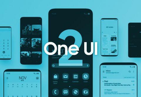 Samsung publikon itenararin e One UI 2.0 (Android 10)