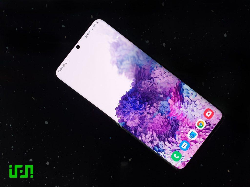 Galaxy S20 Ultra Display